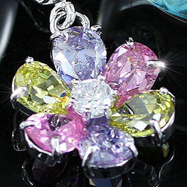 Cercei Borealy Topaz Colour Flower-big