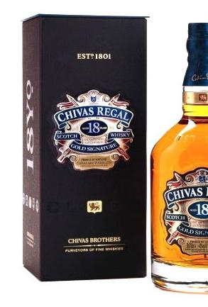 Chivas Regal 18 Years Old - Luxury Limited Edition 1