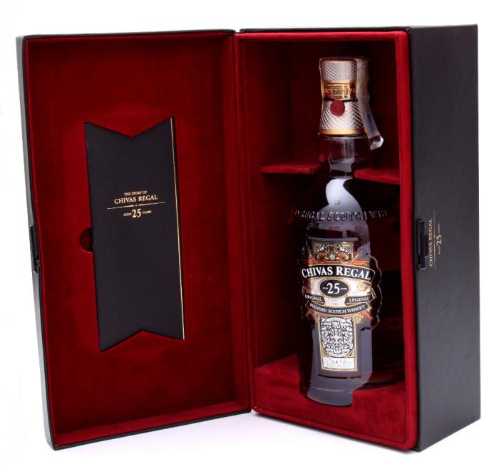 Chivas Regal 25 Years Old - Luxury Limited Edition 0