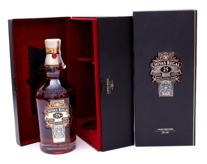 Chivas Regal 25 Years Old - Luxury Limited Edition 3