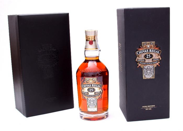 Chivas Regal 25 Years Old - Luxury Limited Edition 5