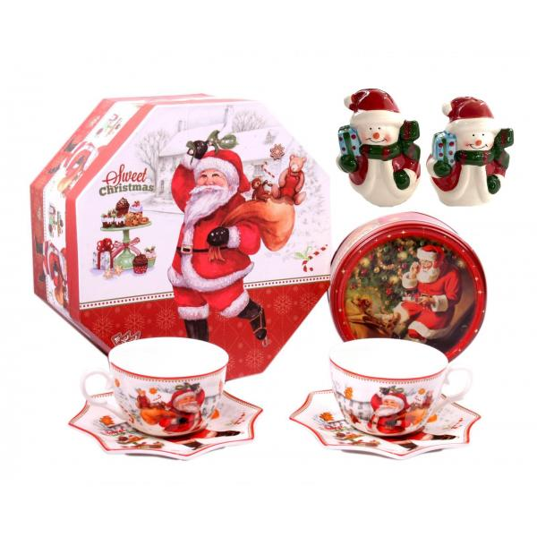 Christmas Coffee & Cookies for Santa + Decoratiuni de Craciun din Ceramica 0