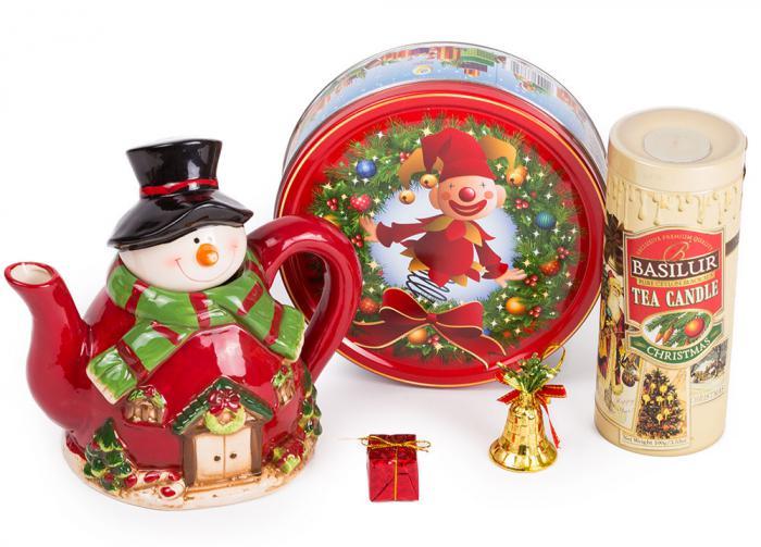 Christmas Cheer Basilur Tea & Cookies 0