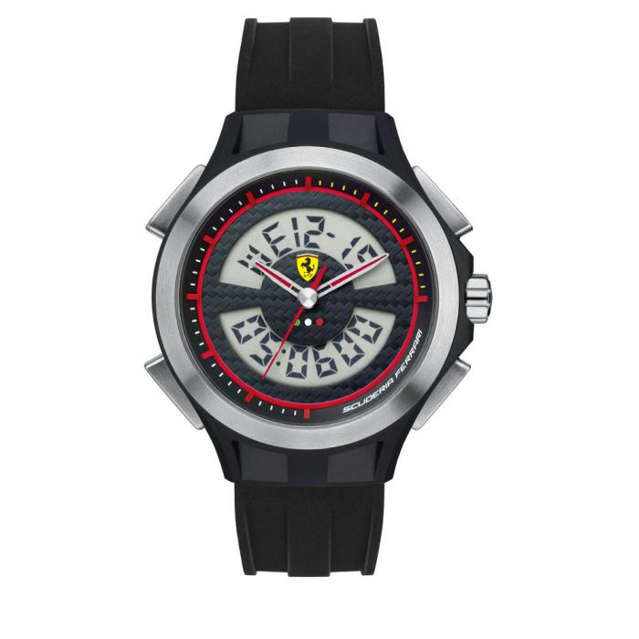 Chrono Scuderia Ferrari Lap Time Exclusive Watch 0