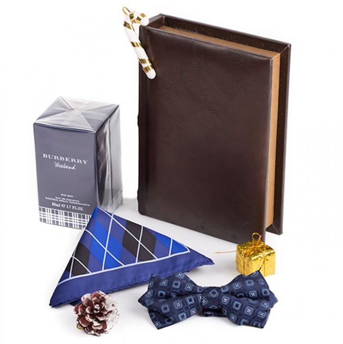 Classic Blue Gentleman Gifts with Burberry 0