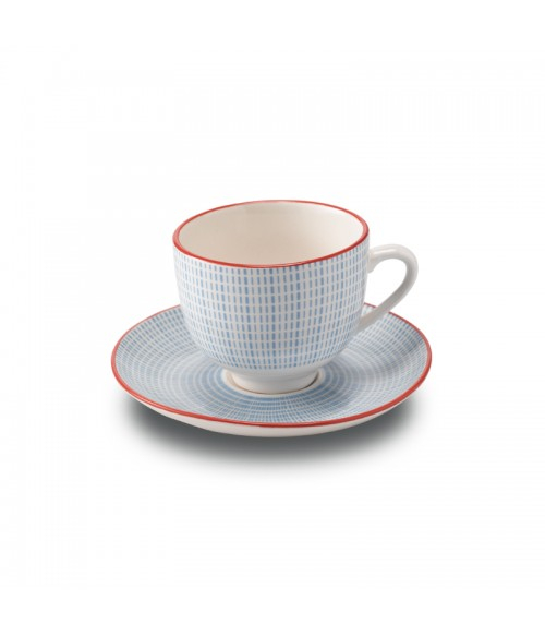 Set 6 cescute + farfurii de cafea By Zafferano, Made in Italy [1]