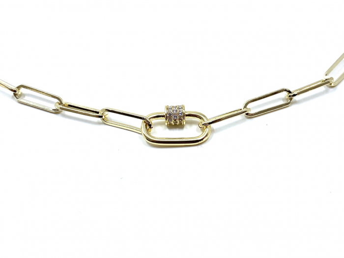 Colier Chain Micro Link 1