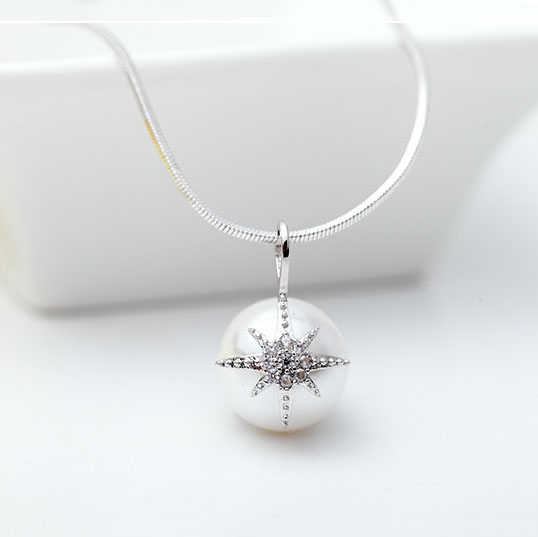 Colier Perle Star Shell-big
