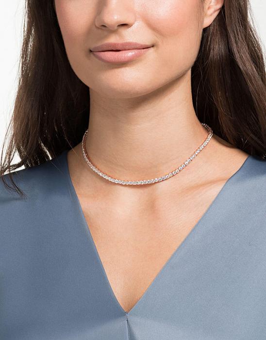 Colier Borealy Small Diamonds Tennis White 1