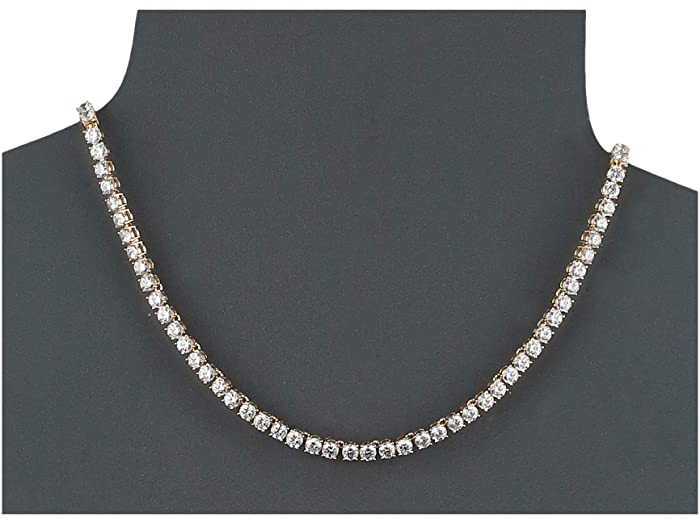 Colier Borealy Small Diamonds Tennis Gold 1