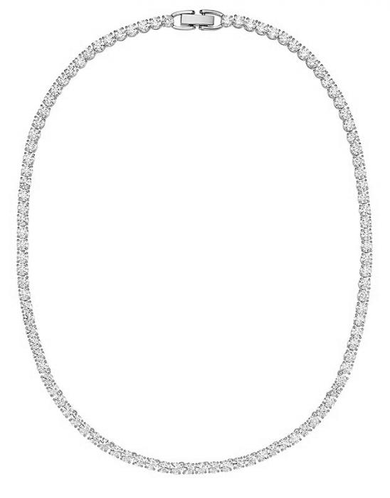 Colier Borealy Small Diamonds Tennis White 0