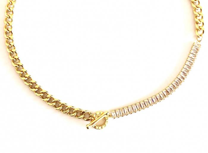 Colier Chain & Tennis Gold [2]