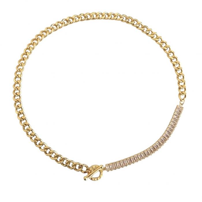 Colier Chain & Tennis Gold [0]
