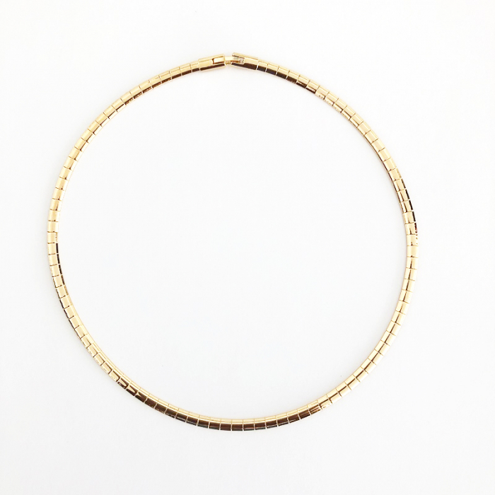 Colier Snake Chain Gold [2]