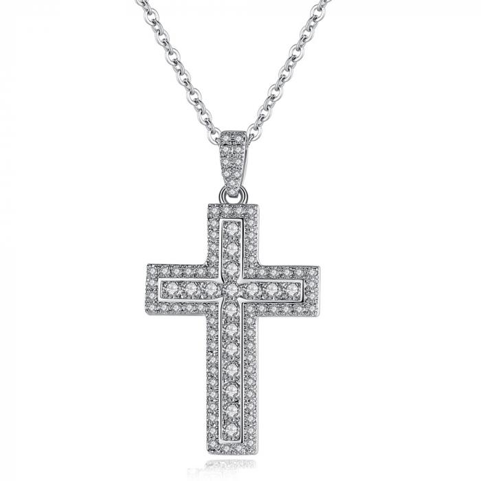 Colier Cross Elegant [0]