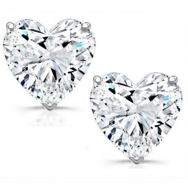 Set Cercei Heart si Colier Love Heart Borealy Argint 925 3