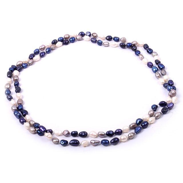 Colier Perle Naturale Super Long Elegance 150 cm 0