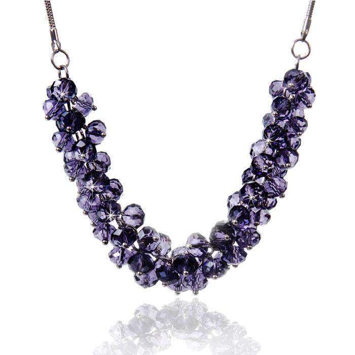 Colier Bead Purple 0