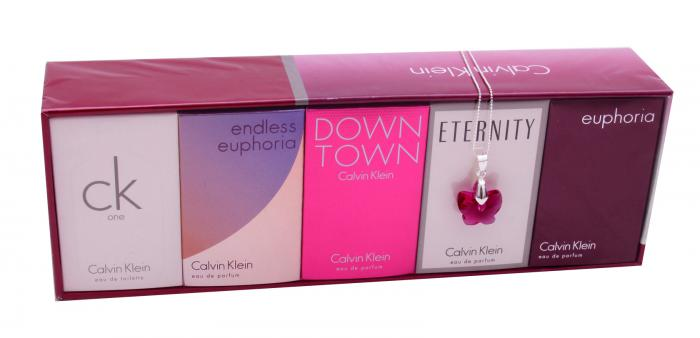 Colier Butterfly Fuchsia & Deluxe Travel Collection Calvin Klein 4