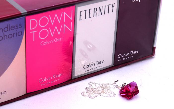 Colier Butterfly Fuchsia & Deluxe Travel Collection Calvin Klein 2