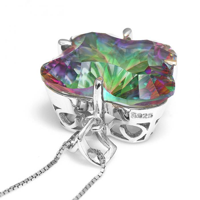Colier Butterfly Mystic Topaz Argint 925 Borealy 5