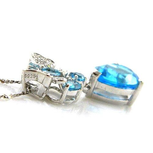 Colier Butterfly Topaz Natural Blue London 4,30 carate 3