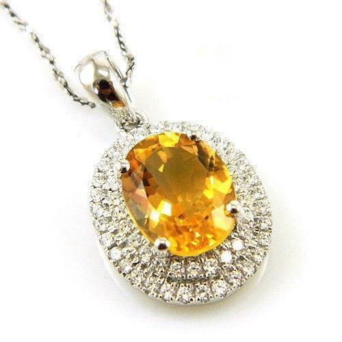 Citrine Luxury 3,15 carate - pietre preţioase naturale & Argint 925 2