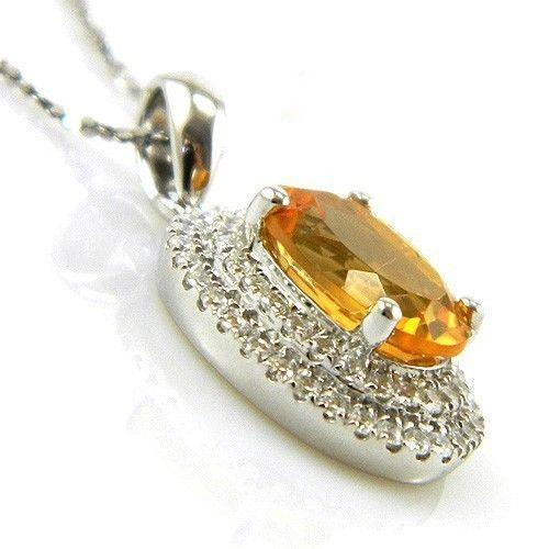Citrine Luxury 3,15 carate - pietre preţioase naturale & Argint 925 3
