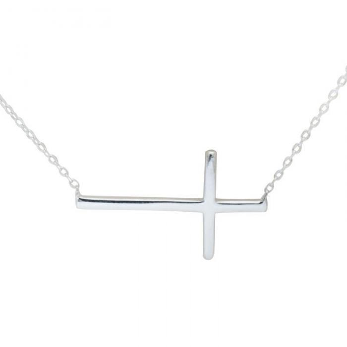 Colier Cross Solid Argint 925 4