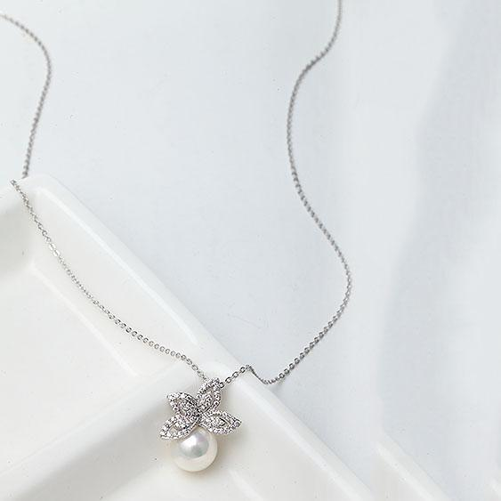 Colier Fleur Pearl Lux Borealy-big