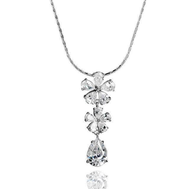 Colier Borealy Diamonds Flowers 0