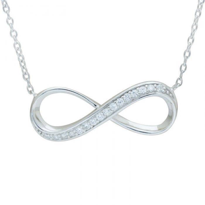 Colier Infinity Argint 925 Borealy-big