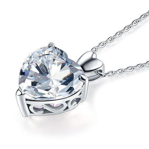 Colier Love Heart Borealy Argint 925-big