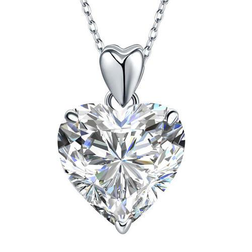 Set Cercei Heart si Colier Love Heart Borealy Argint 925 1