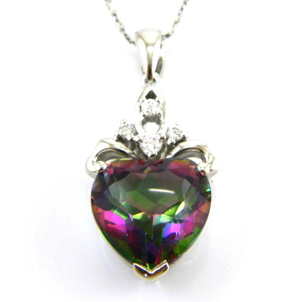 Colier My Mistic Heart Topaz 6,60 carate Argint 925-big