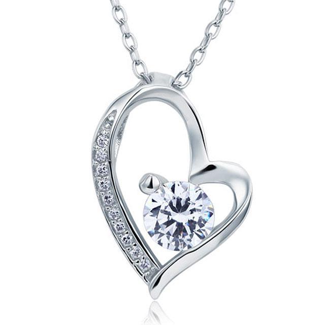 Colier Borealy Argint 925 Heart-big