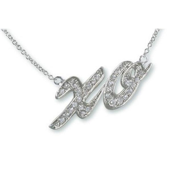 Colier Borealy Diamonds XO Kiss 1