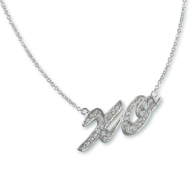 Colier Borealy Diamonds XO Kiss-big