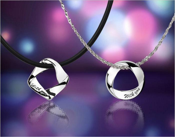 Coliere Angels Charms For Lovers Argint 925 Borealy-big