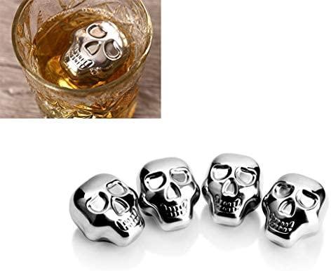 Skeleton Cooling Cubes - Cuburi otel pentru racire bauturi 2