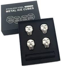 Skeleton Cooling Cubes - Cuburi otel pentru racire bauturi 0