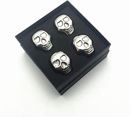 Skeleton Cooling Cubes - Cuburi otel pentru racire bauturi 3