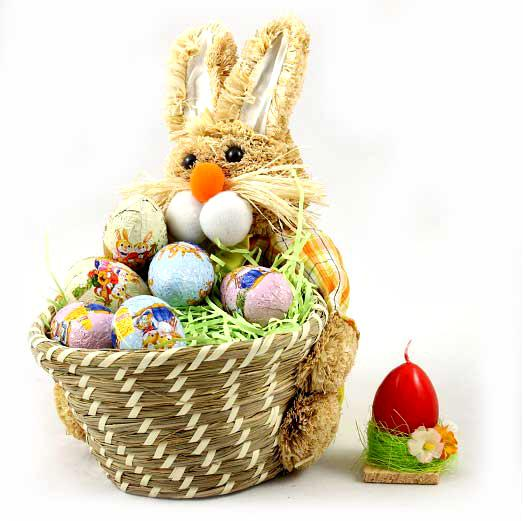 Chocolate Eggs Gift Basket-big