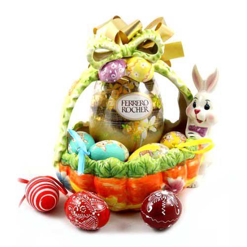 Cos Cadou Ferrero Ceramic Gift Basket-big