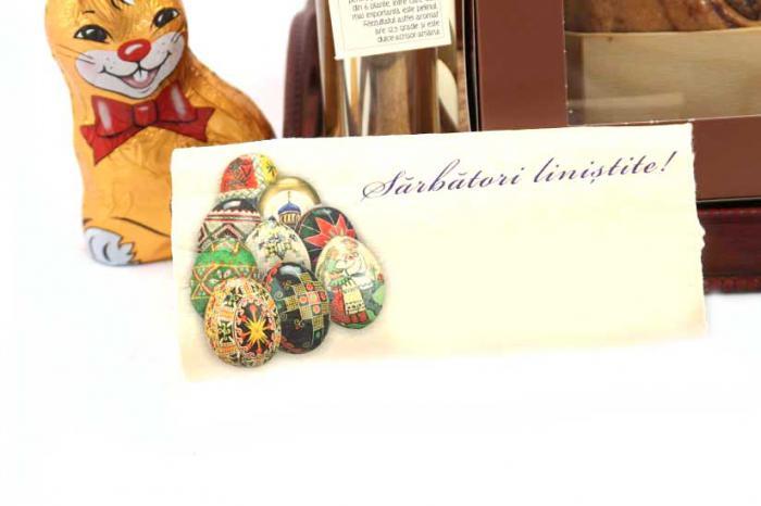 Cadou Paste Easter Hand Made-big