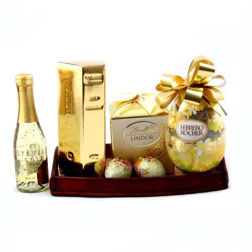 Cadou Paste Pure Gold Gift Tray-big