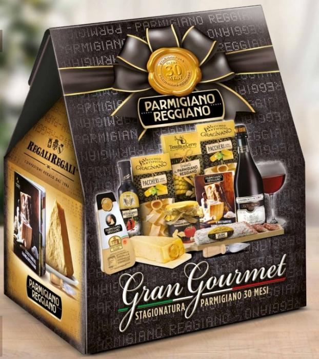 Cos de Craciun Italian Gourmet - 10 piese, made in Italy 0
