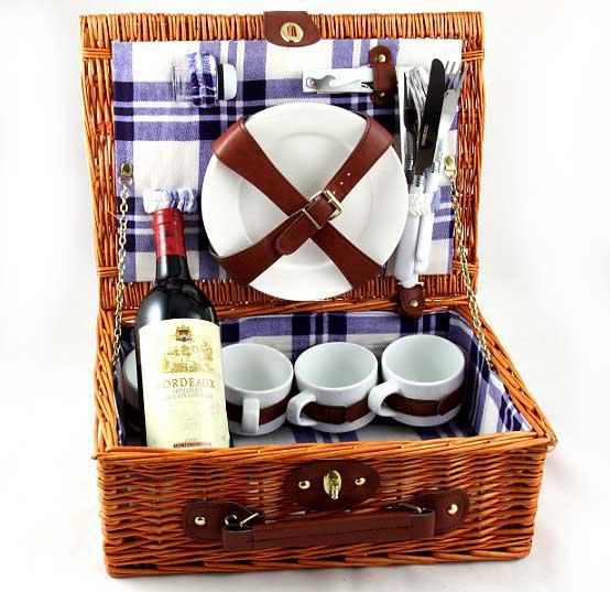 Coş picnic 4 persoane Alpi 0