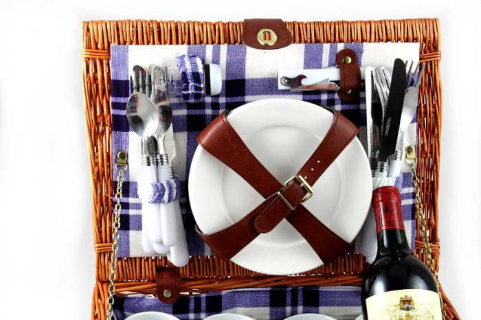 Coş picnic 4 persoane Alpi 4