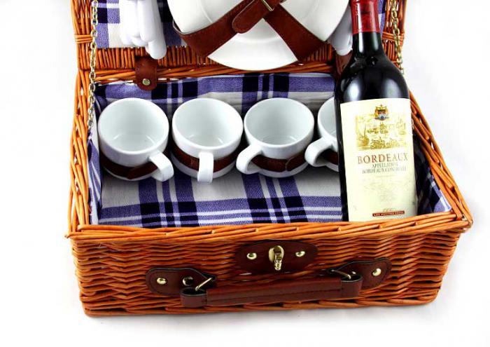 Coş picnic 4 persoane Alpi-big